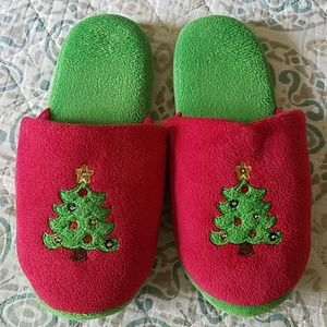 NWOB Christmas Tree Slippers
